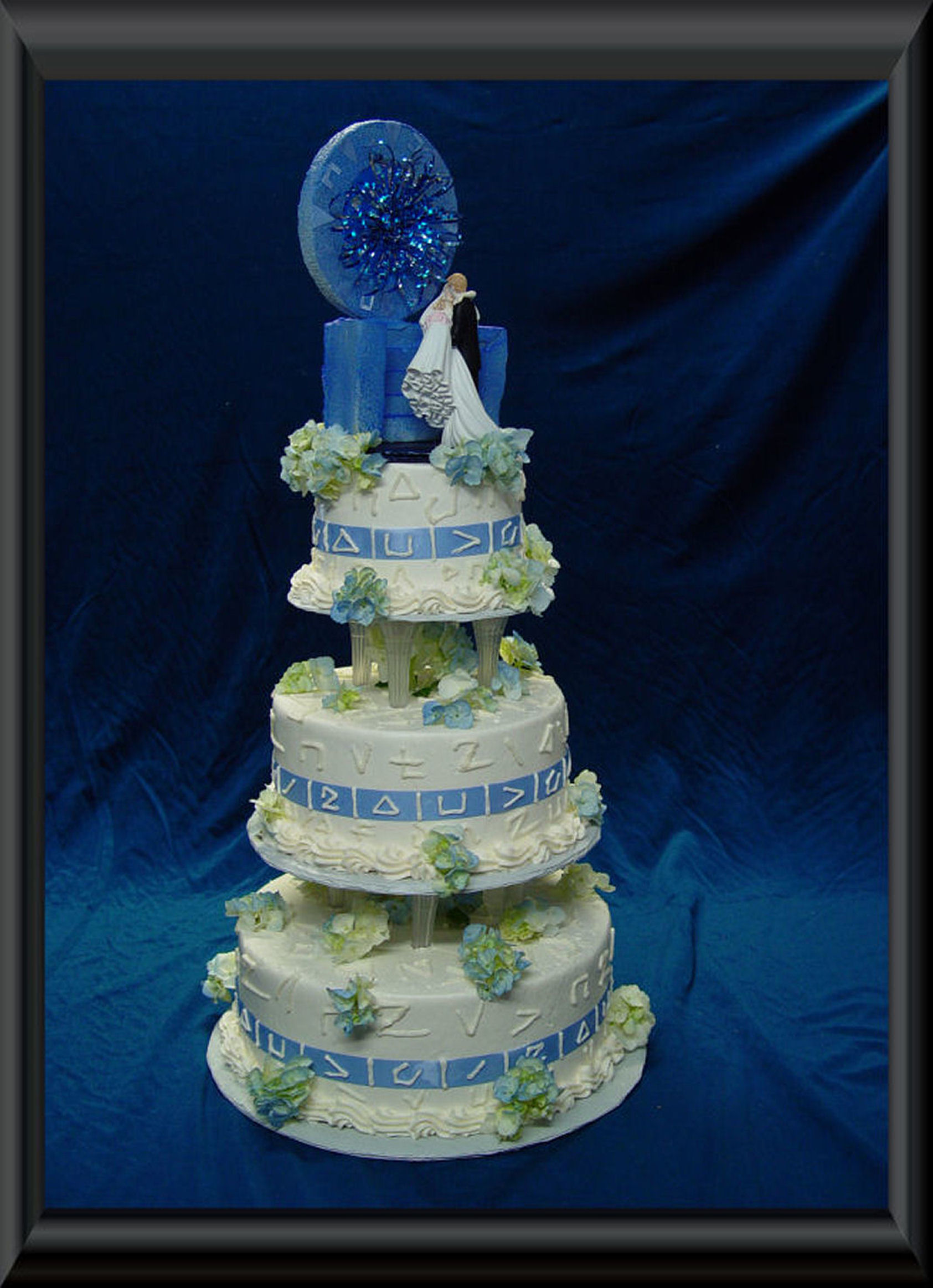 Stargate Wedding Cake